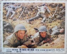 Battle for Anzio, Original Movie Still, Robert Mitchum, Peter Falk, '68
